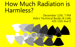 How much radiation is harmless @ Ada's Technical Books | Seattle | Washington | United States