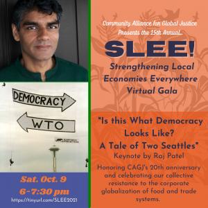 15th Annual Strengthening Local Economies, Everywhere! (SLEE!) Virtual Gala @ Virtual