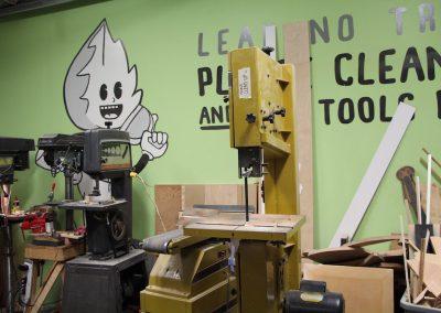 Shop drill presses