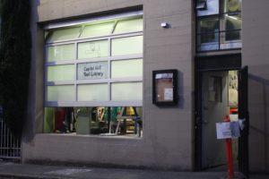 tool library front garage doors